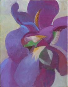 Cubist Purple Iris