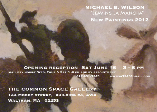 Gallery show announcement @ Common Space Gallery, Waltham
