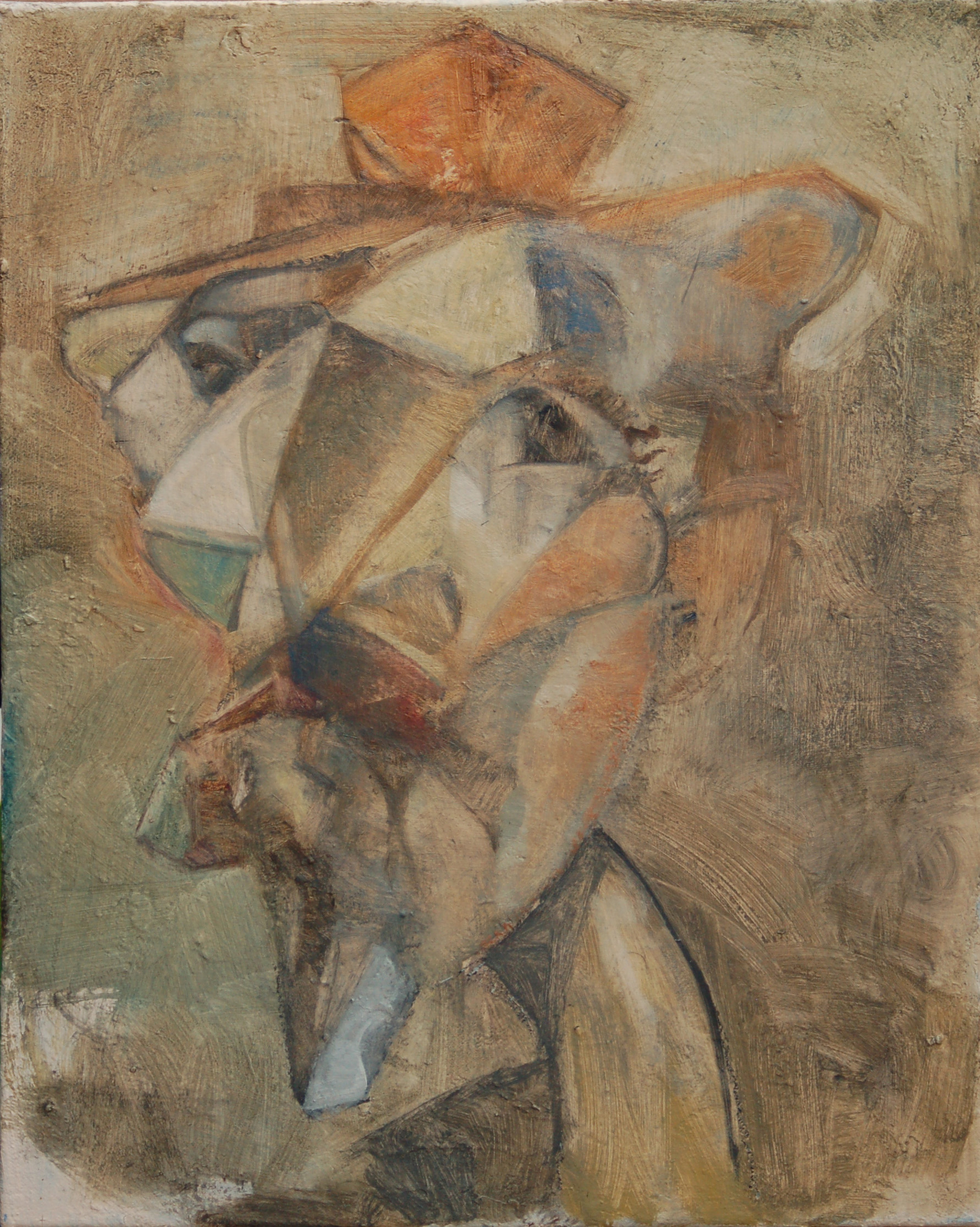 how to create a cubist portrait