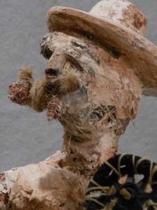 """Hopes and Possessions wood, wire, string, plaster, rope, polymer gel medium, copper 25""""x17""""x12""""   2013"""