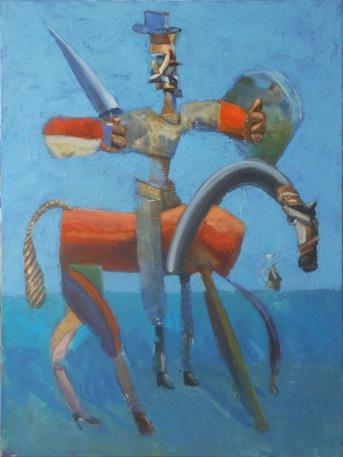 """As True As A Myth  2014 oil on canvas, 40""""x 30"""""""