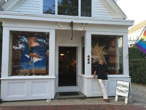 Michael in front of 444 Commercial St, Ptown