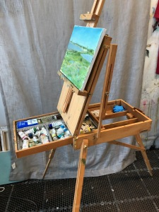 materials for plein air painting;