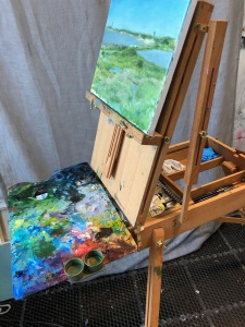 materials for plein air painting